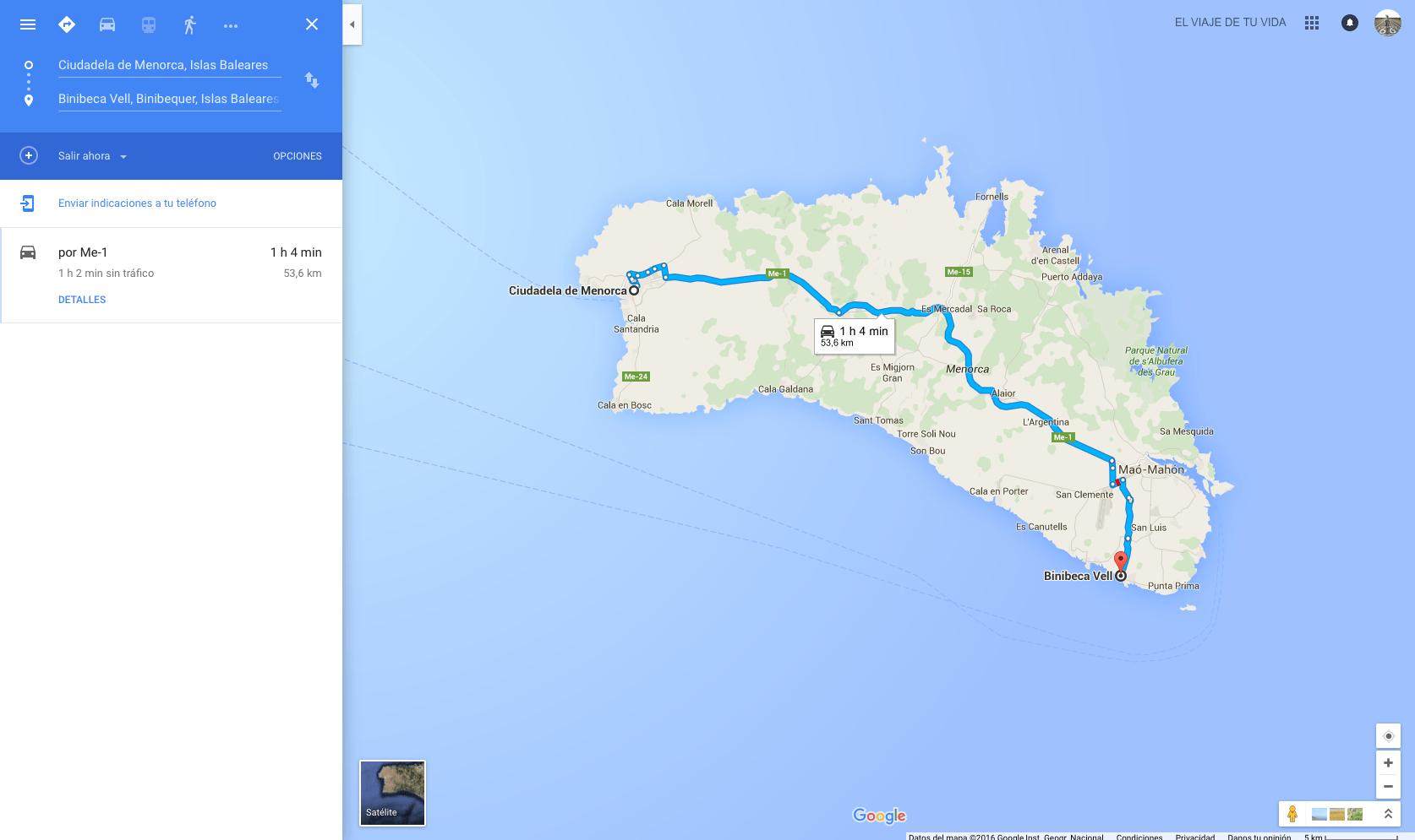 Guía de Viaje Menorca
