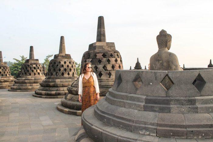 Videos de Prambanan y Borobudur