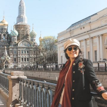 Preparativos de viaje a San Petersburgo
