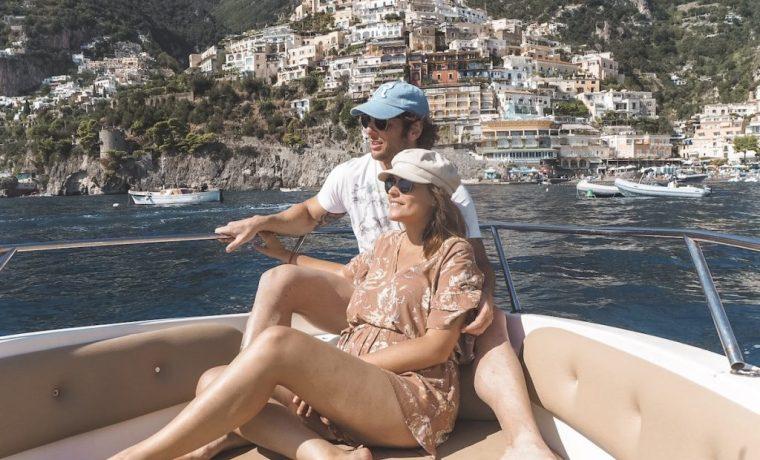 Costa Amalfitana en bote
