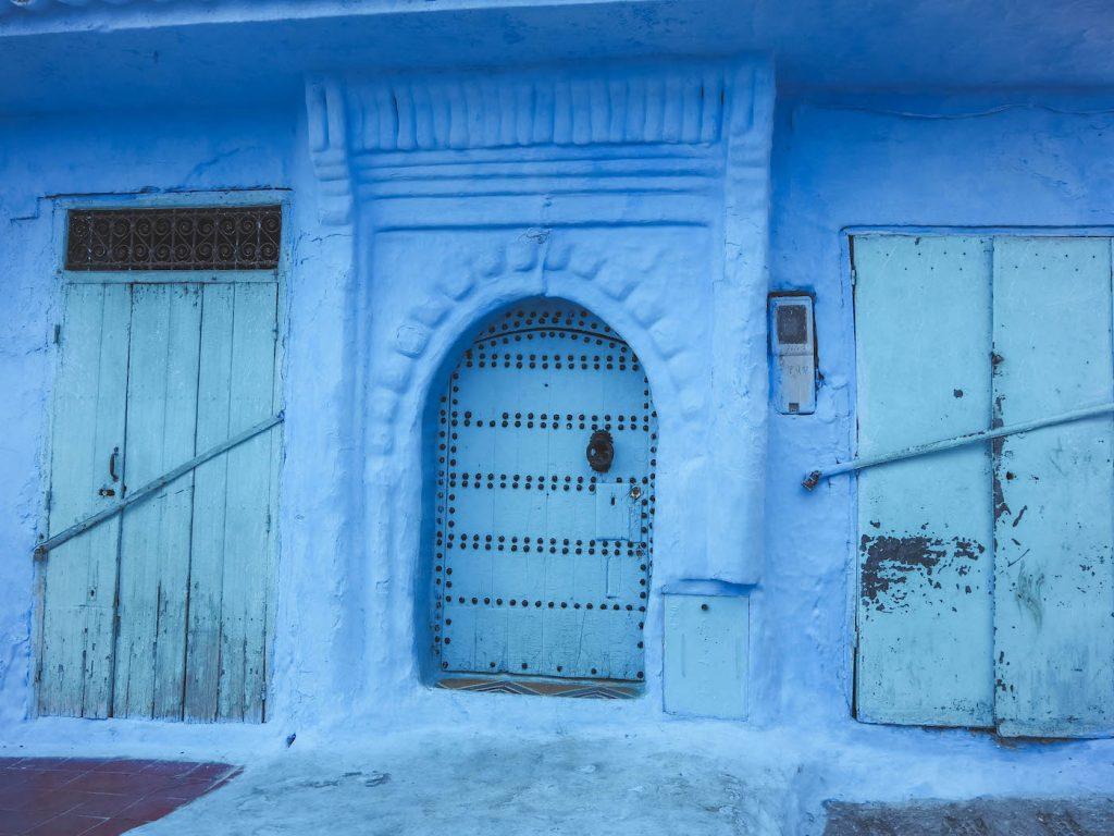 Puertas de Chefchaouen