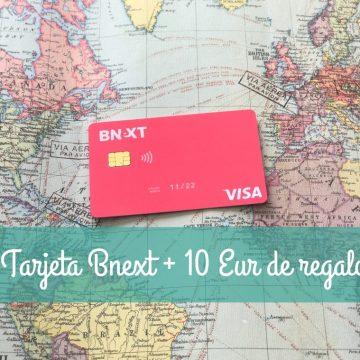 Experiencia con la tarjeta Bnext
