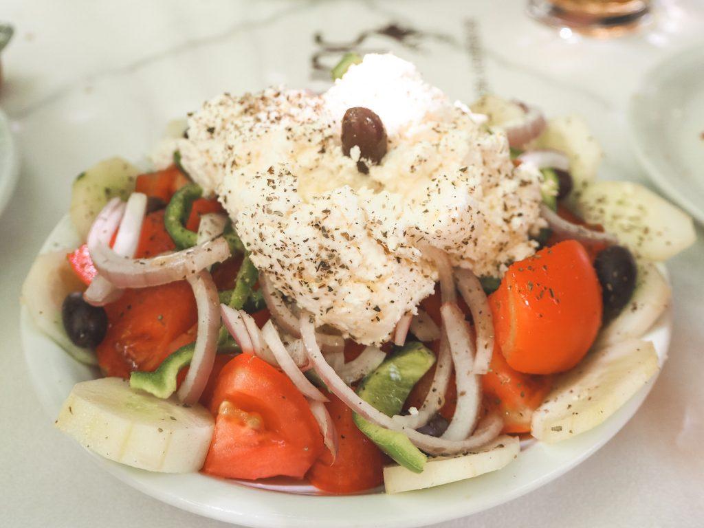 Donde comer en Halki