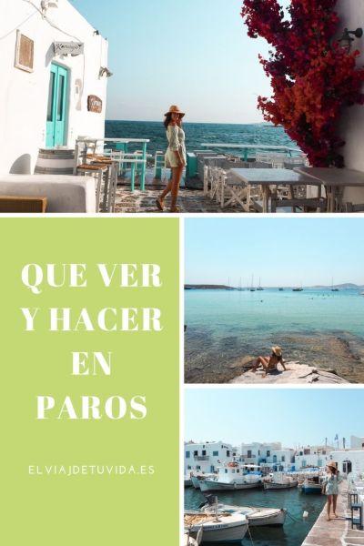 Qué ver y hacer en Paros