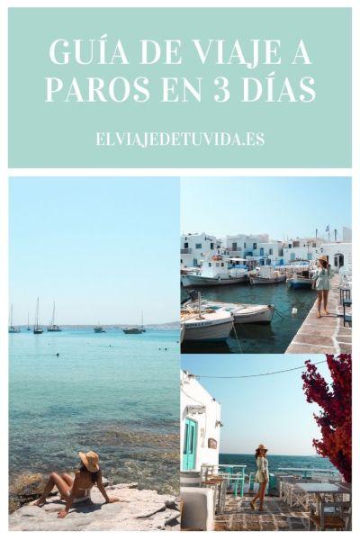 Viaje a Paros en 3 días