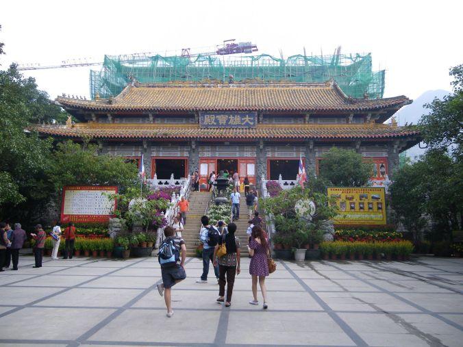 monasterio_po_lin_hong_kong_elviajenotermina_blog de viajes
