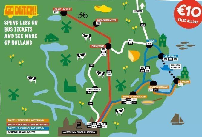 mapa_edam_volendam_marken_blog viajes_el_viaje_no_termina
