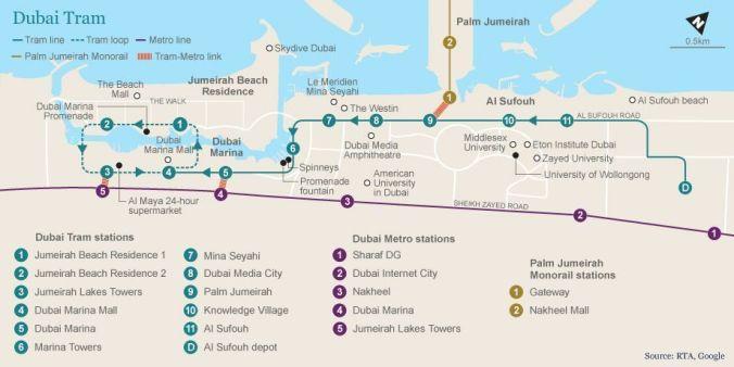 Tranvía Dubai - El Viaje No Termina - Blog de Viajes