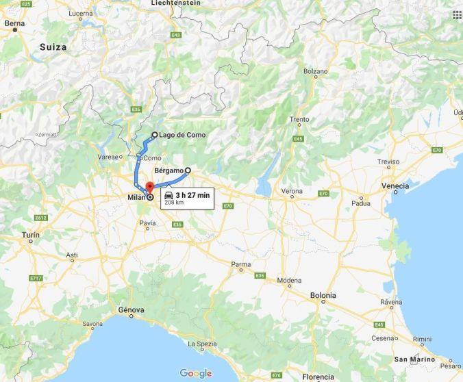 Milan-Bergamo - Italia - El Viaje No Termina