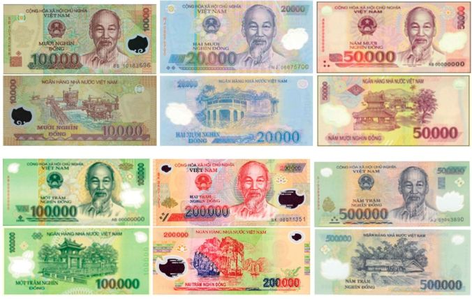 Billetes Dongs Vietnam - El Viaje No Termina