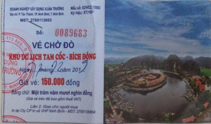 Bote Tam Coc - Vietnam - El Viaje No Termina