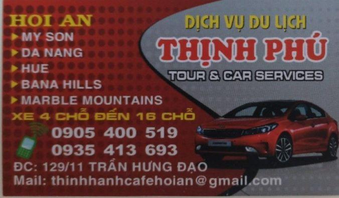 Taxi Hoi An - Vietnam - El Viaje No Termina