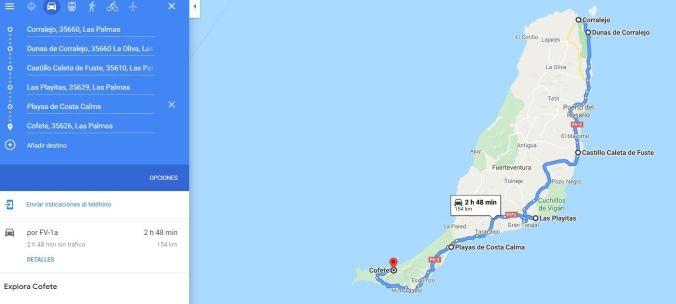 Ruta Costa Fuerteventura - El Viaje No Termina