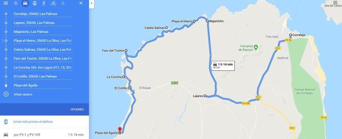 Ruta Norte Fuerteventura - El Viaje No Te