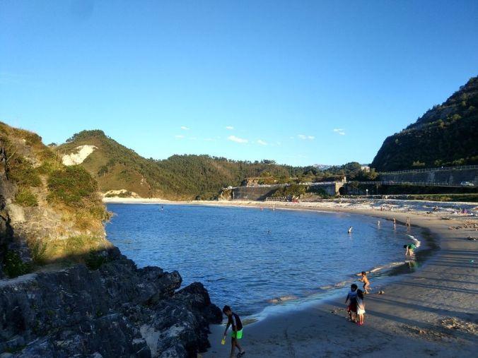 Playa San Antolin- Asturias - El Viaje No Termina