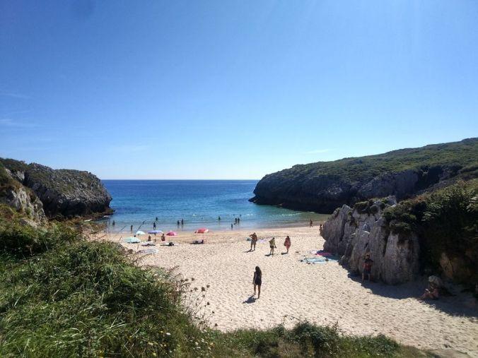 Playa de San Antonio - Asturias - El Viaje No Termina