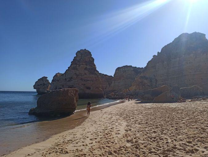 Praia do Marinha - Algarve - Portugal - El Viaje No Termina