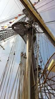 Buque2-1 elviajeroaccidental visita el buque escuela a vela peruano BAP Unión