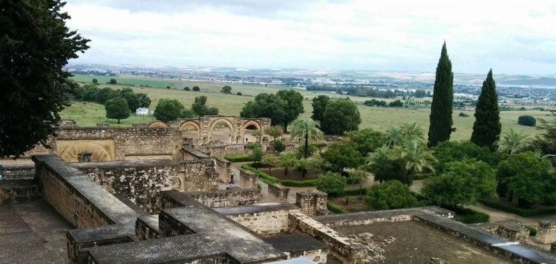 Córdoba la Vieja y al fondo Córdoba la Nueva