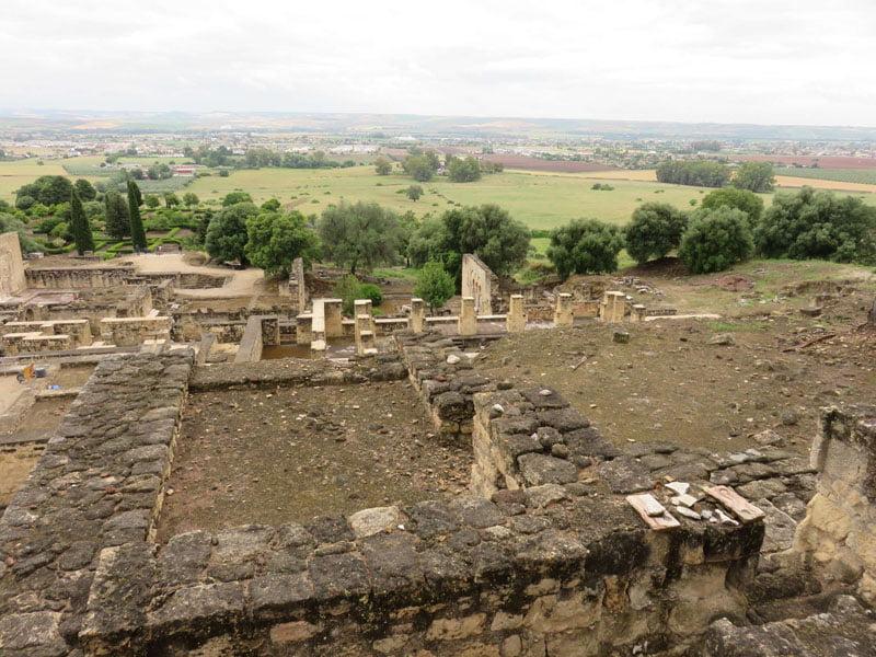 Vista general de las terrazas