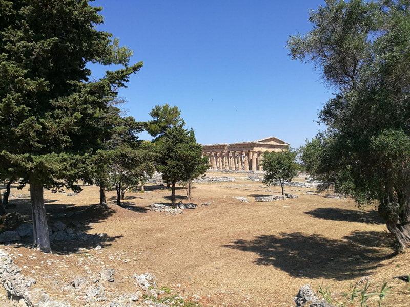 Sitio arqueológico de Paestum