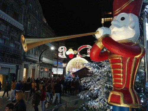 Paseando por las luces, la navidad en 2017