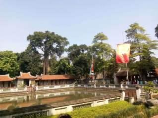 Templo de la LIteratura en Hanoi