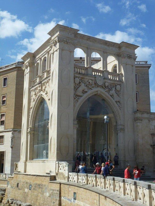 Il Sedile de cerca en Lecce