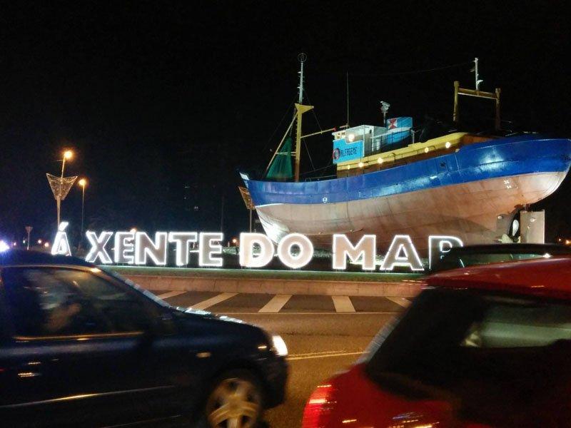 Barco de noche