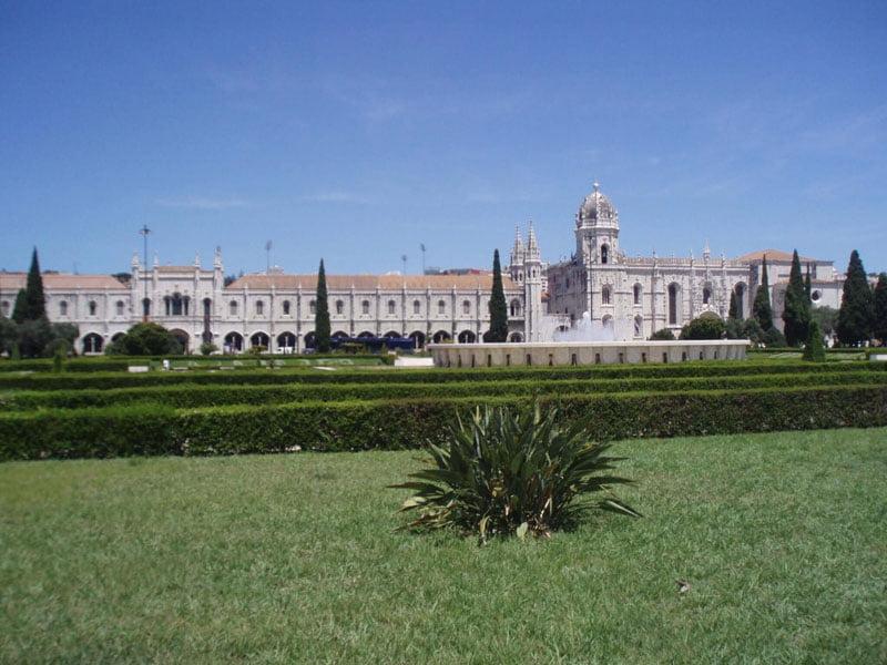 Fachada del Monasterio de los Jerónimos de Lisboa
