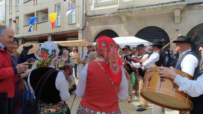 Festa rachada en Bouzas