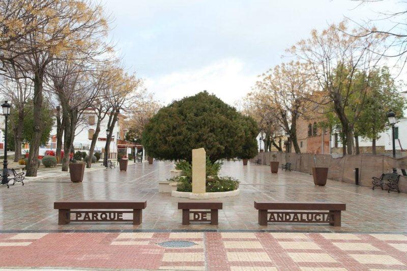Parque de Andalucía en Cañete de las Torres en Córdoba