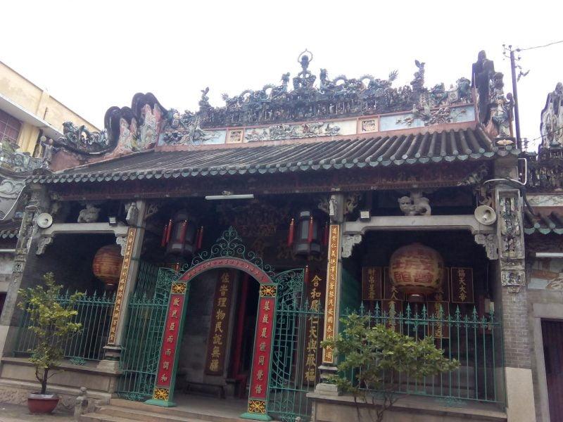 Templo en Saigón