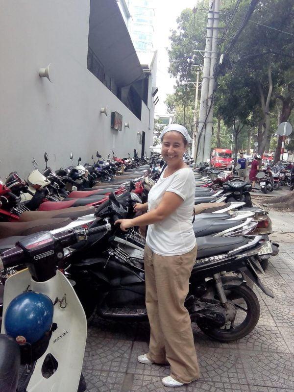 Entre motos