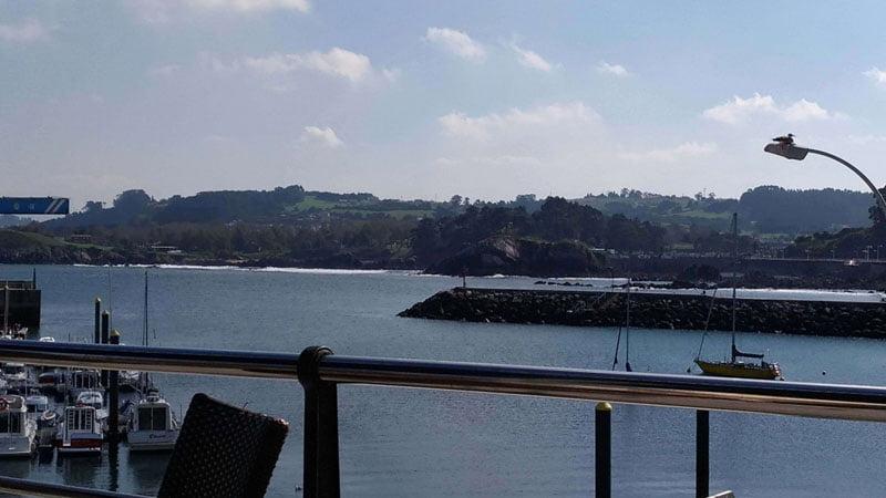 Puerto de Candás en Asturias