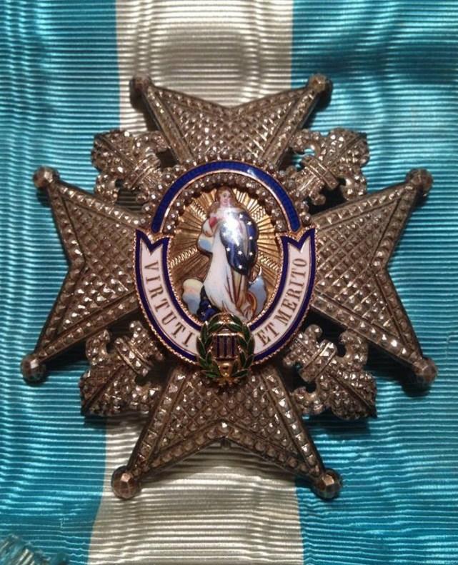 Placa Orden de Carlos III