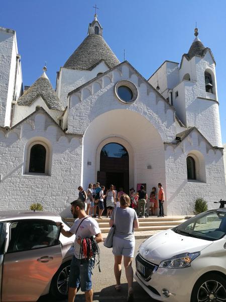 Iglesia de San Antonio en Alberobello