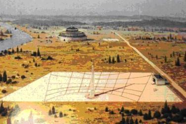 Meridiana Augusto ricostruzione