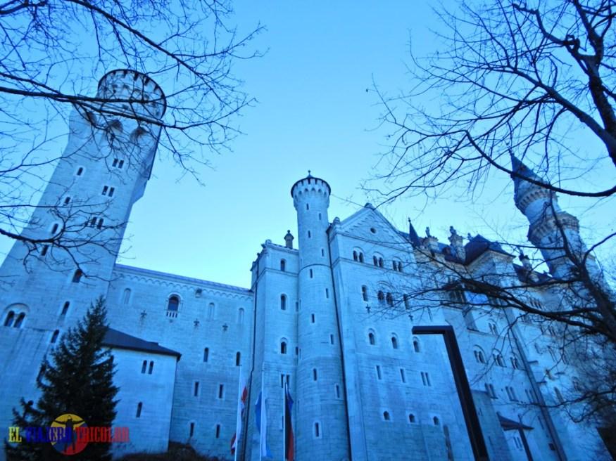 Entrada al Castillo de Neuschwanstein