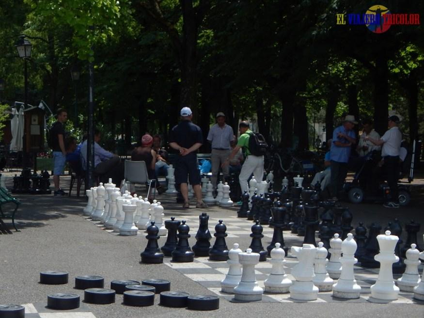 Parque en Ginebra