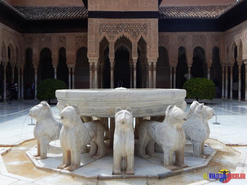 Palacio de Los Leones en la Alhambra