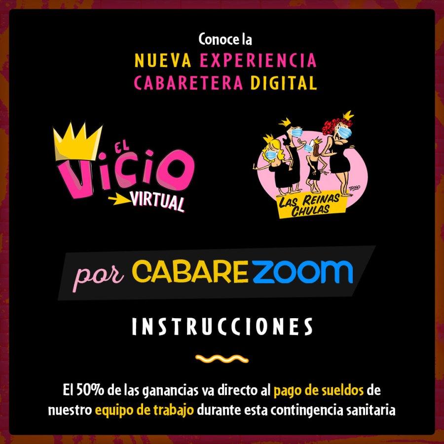Instrucciones para el CabareZoom (portada)
