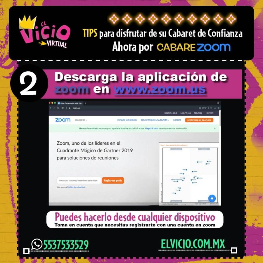 Instrucciones para CabareZoom (2)