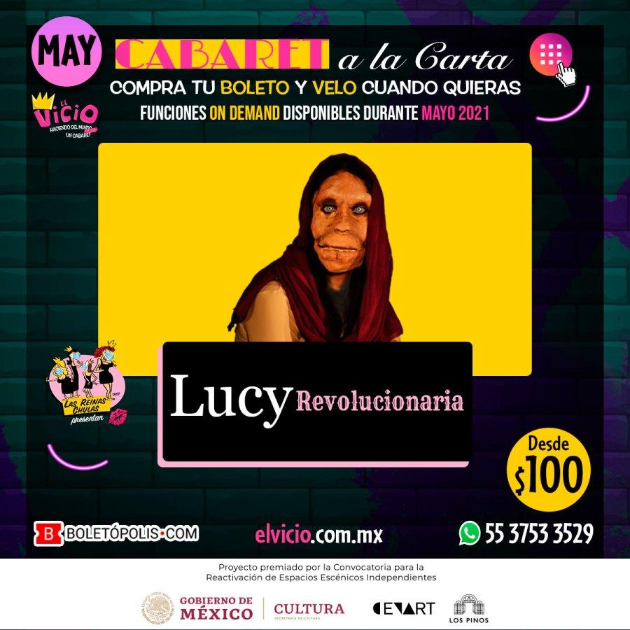Postal Lucy Revolucionaria, disponible en Mayo 2021