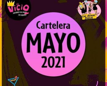 Cartelera del Teatro Bar El Vicio: Mayo 2021