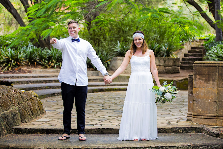 Verity's Boho Wedding Gown Perth
