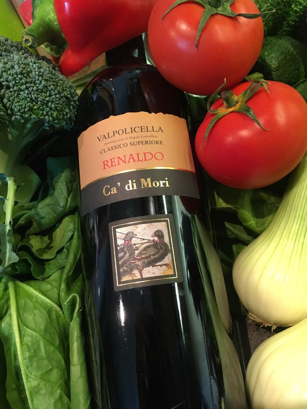 Renaldo Valpolicella ! Italia en una copa !