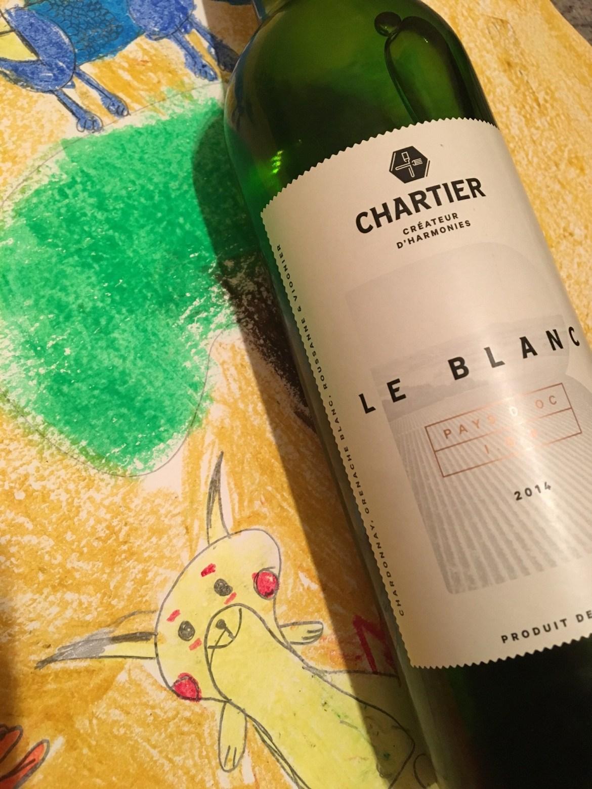 Le Blanc ! de Chartier !
