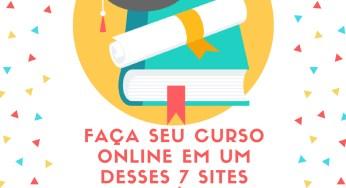 Faça seu curso online em um desses 7 sites incríveis