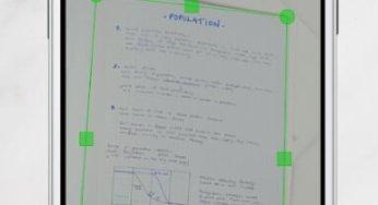 Converta fotos em documentos – Escanear pelo Celular